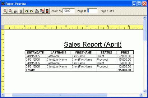 7 Sales Report Templates - Excel PDF Formats