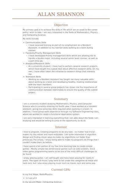 Merchandiser Resume samples - VisualCV resume samples database
