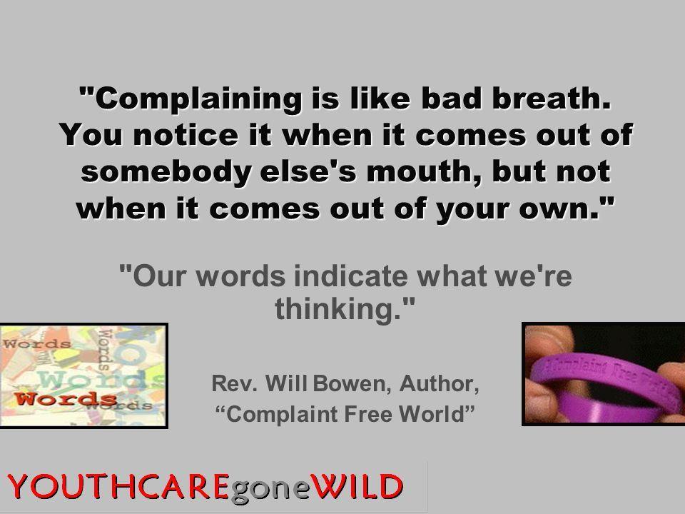 Complaint Words | Samples.csat.co