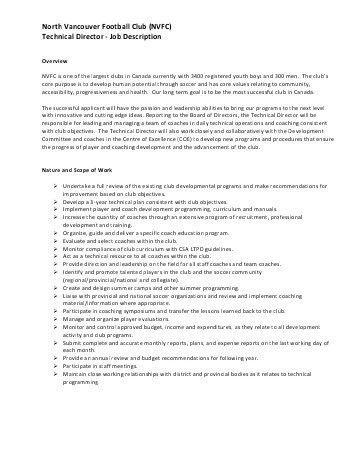 Technical Director Job Description. Technical-Director-Performance ...