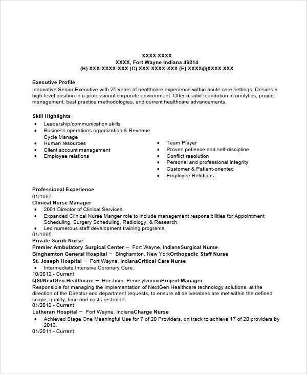 44+ Manager Resume Example