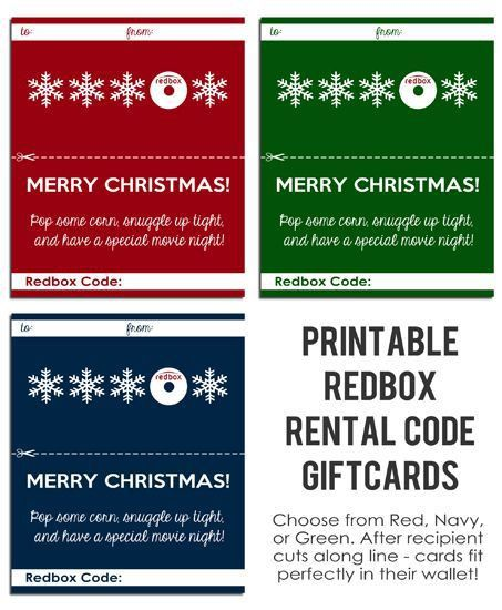 Best 25+ Redbox gift card ideas on Pinterest | Movie ticket gift ...