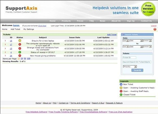Trouble Ticket System Software Free Download