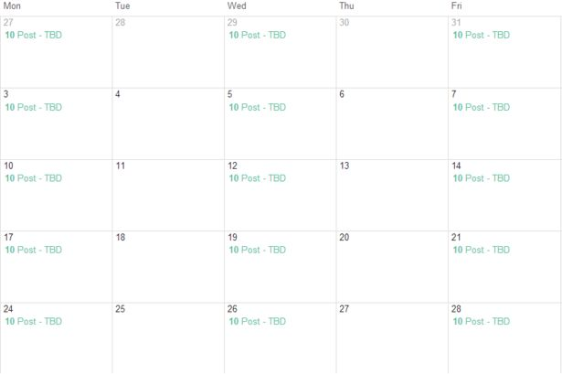 Eight free content calendar templates to help plan your output ...