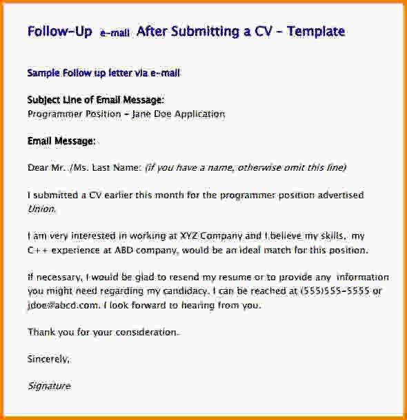 Follow Up Email Template.Follow Up Email Template After Resume.jpg ...