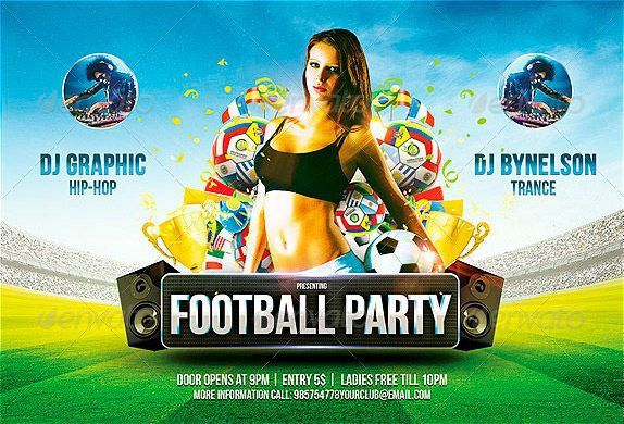 FFFLYER | Download the best football flyer templates for Photoshop!