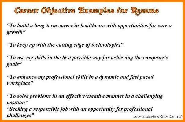4+ career objective sample for cv   cashier resumes