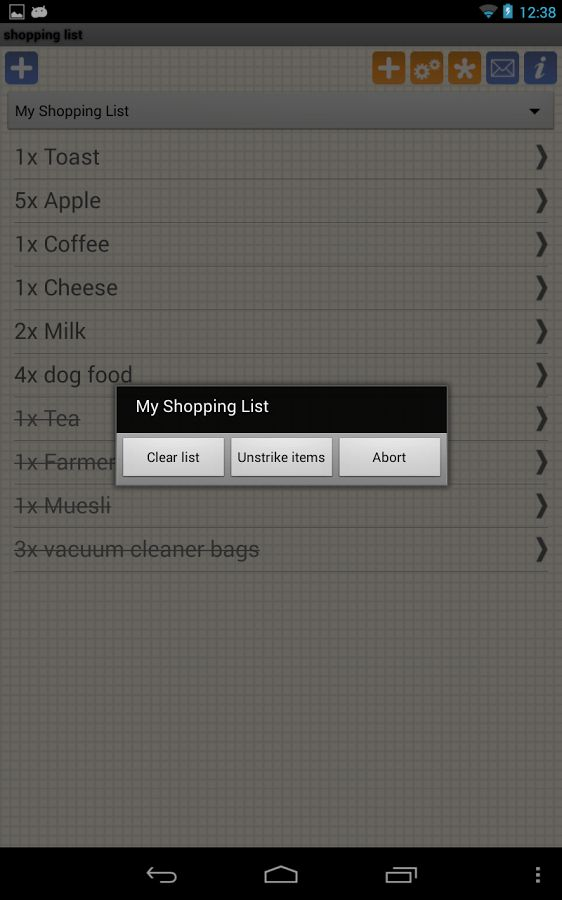 Shopping Grocery List - Free - Android Apps on Google Play