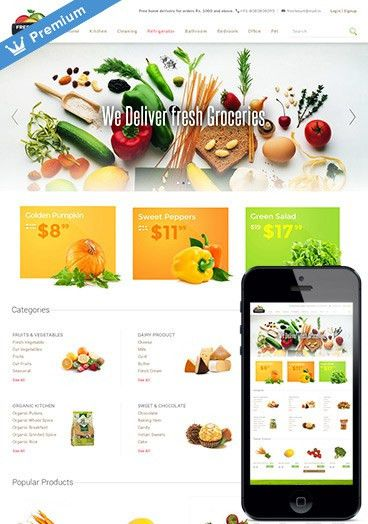 Ecommerce Templates - Free Premium Responsive Website Templates ...