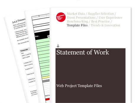 Statement of Work - Web Project Template Files | Econsultancy