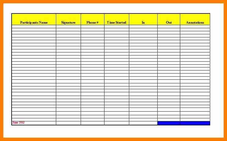 7+ teacher attendance template   science-resume