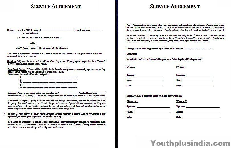 Sample Service Agreements. Service Level Agreement Pdf Sample ...