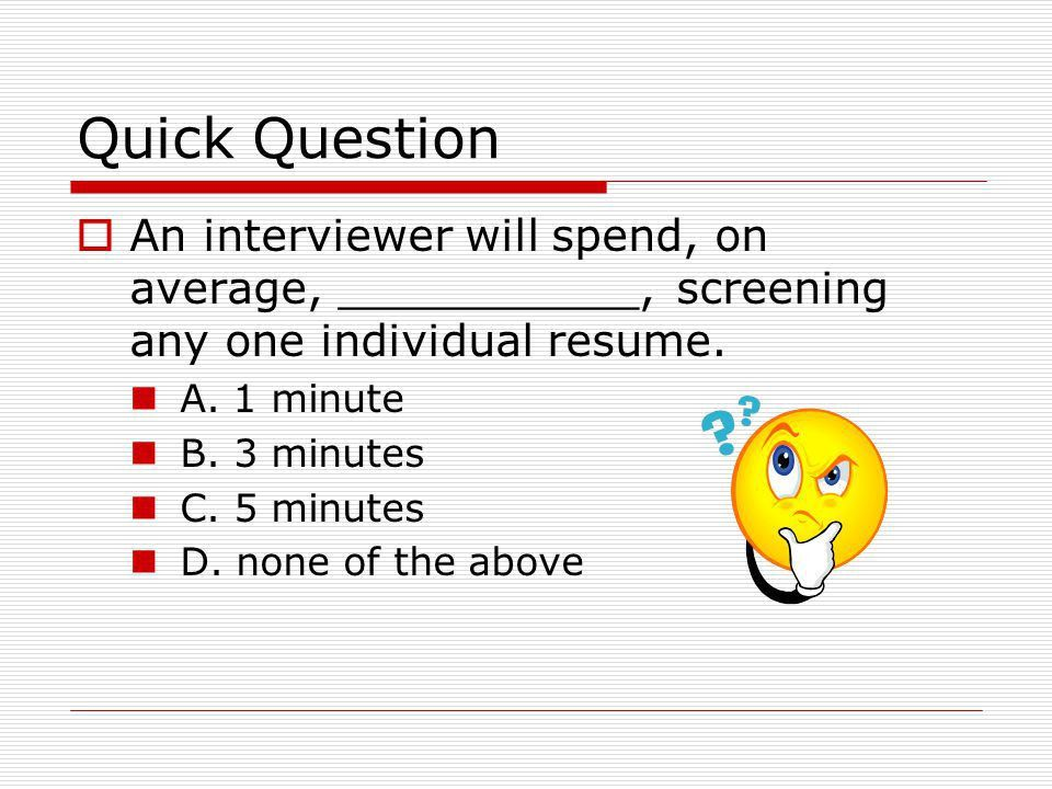 Resume Workshop. - ppt download