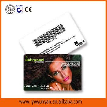 Custom Plastic Salon/sample/ Gym Membership Card,Membership ...