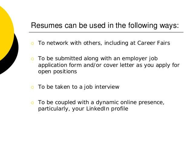 Creating Professional Resumes & Cover Letters