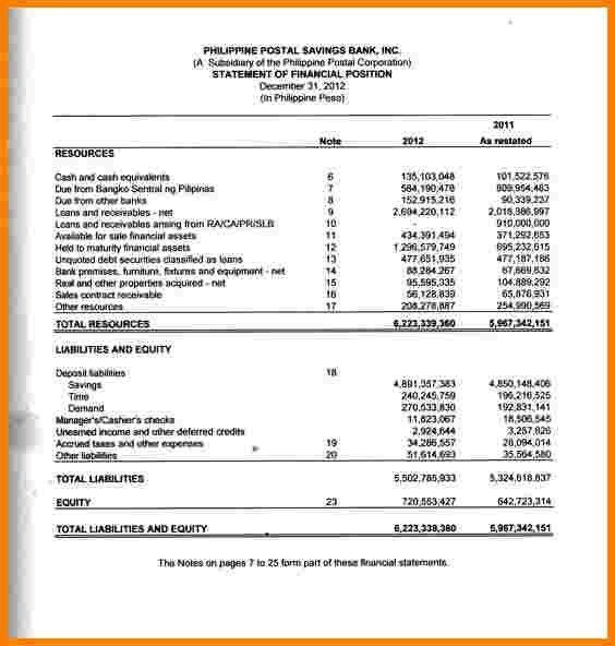7+ sample audited financial statements   Case Statement 2017