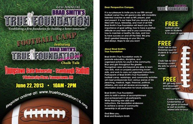 Buffalo Bills Brad Smith's True Foundation to Host 6th Annual Free ...