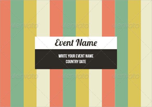 Event Brochure Template. Orange Event Flyer Template Word Doc 15+ ...