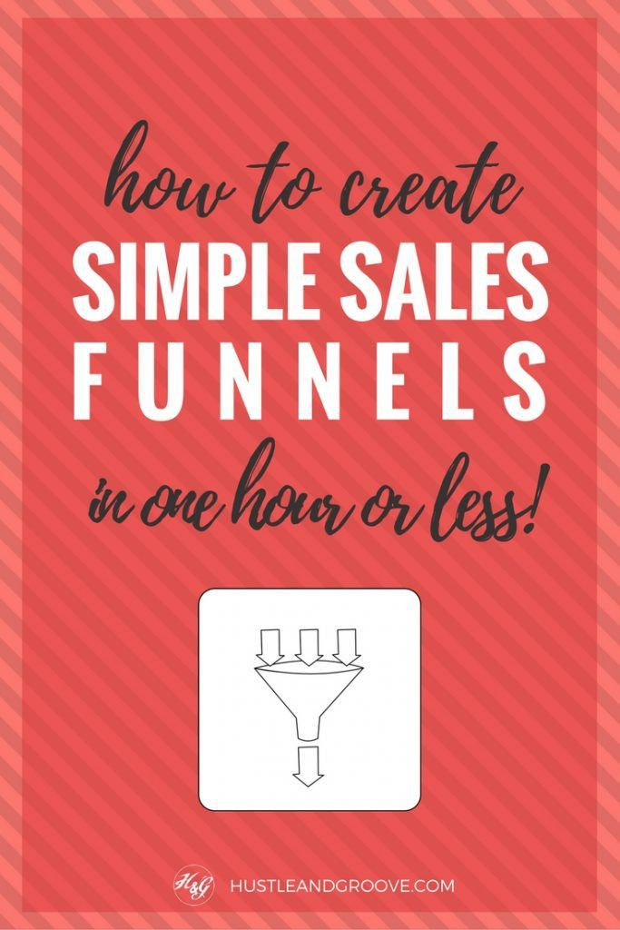 Simple Sales Funnel: How to Set One Up in an Hour (or less ...