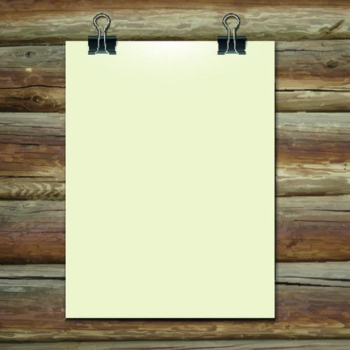 Blank paper advertisement background free vector download (47,126 ...