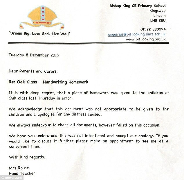 Bishop King Primary School students asked to write about 'what p ...