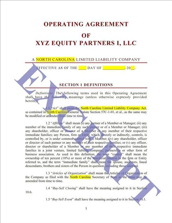 Operating Agreement LLP CRE Fund: REALCREFORMS