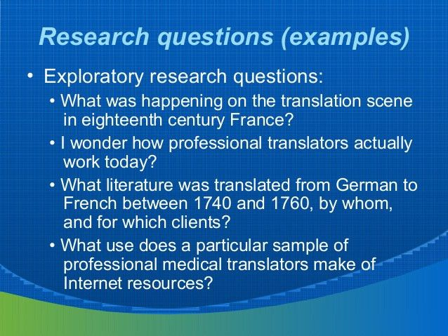 Research in translation studies