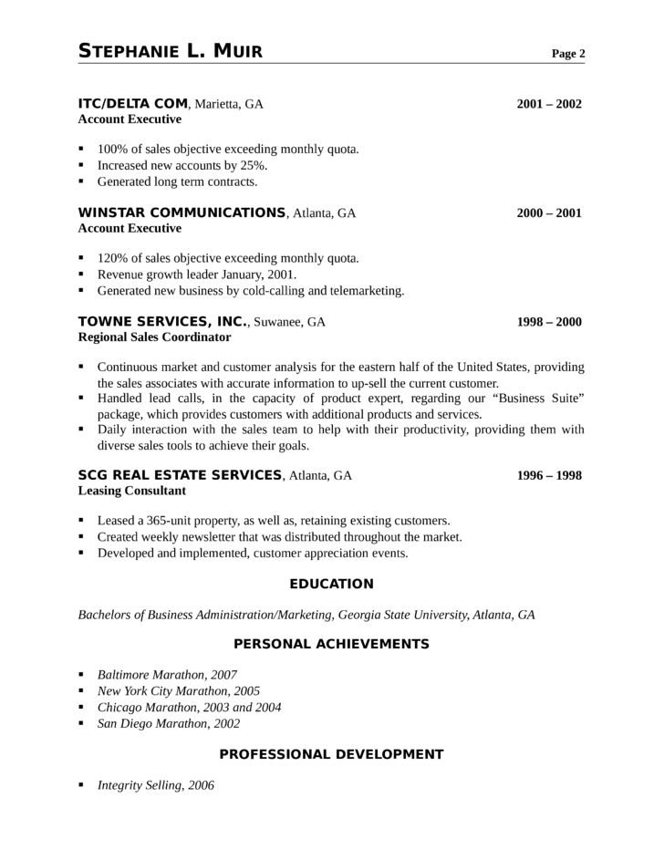 Resume Samples For Telemarketing Sales Representative | Create ...