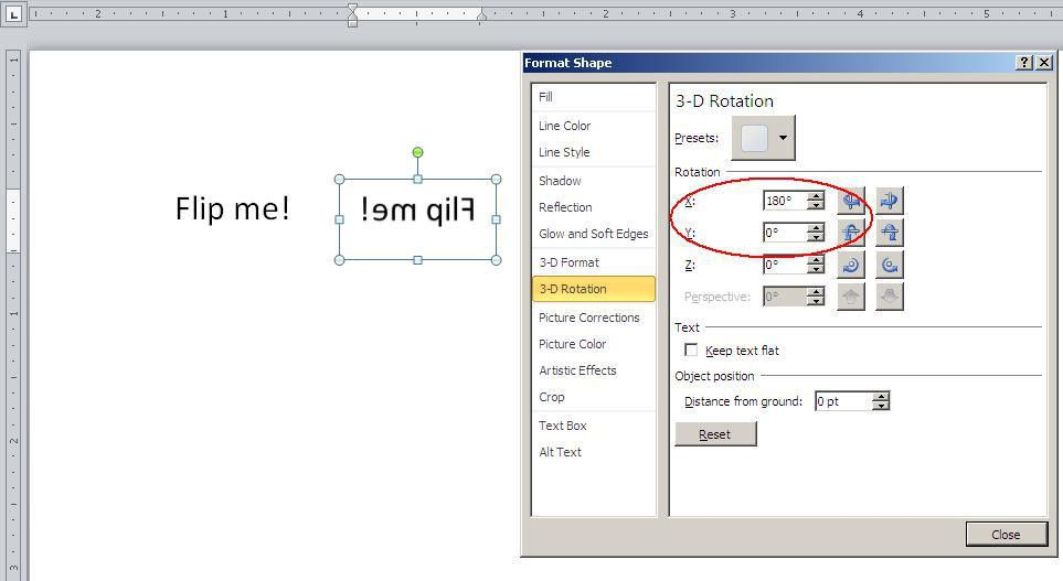 Quick Tip: Flip text for a mirror image in Word - TechRepublic