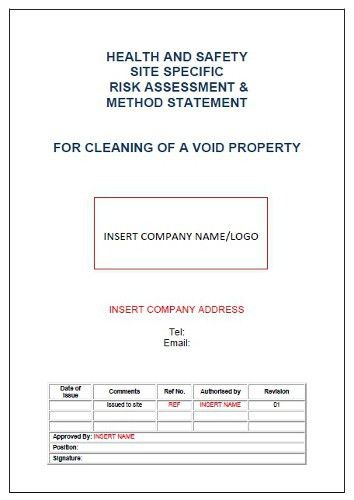 Risk Assessment & Method Statement For Laying Concrete