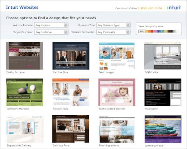 Top 5 Online Website Builders