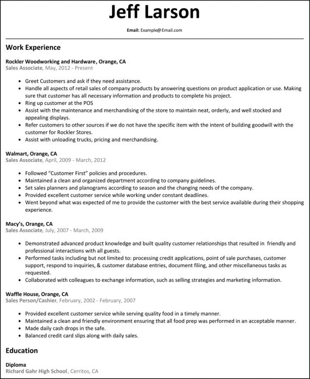 Curriculum Vitae : Internship Resume Objective Sample Tutv Puerto ...