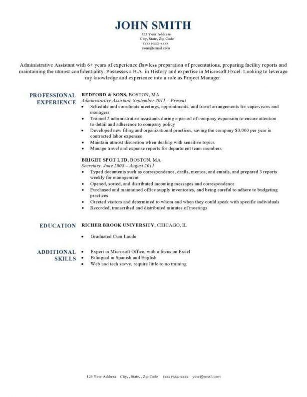 Resume : One Page Resume Rule Development Manager Non Profit Data ...