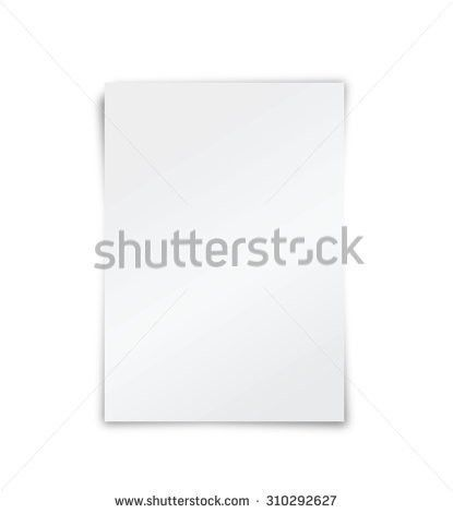 Blank Paper Stock Images, Royalty-Free Images & Vectors | Shutterstock
