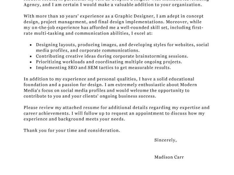 Trendy Inspiration Ideas Design Cover Letter 6 Best Graphic ...
