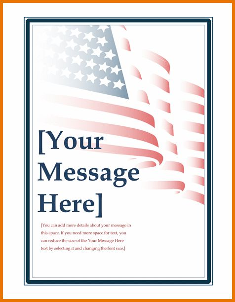Microsoft Office Invitation Templates.Fourth Of July Event ...