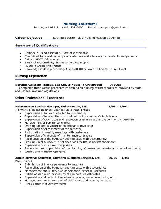 Medical Resume   Free Resumes Tips