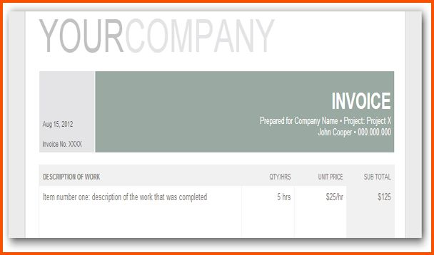 13+ invoice template google docs | Survey Template Words