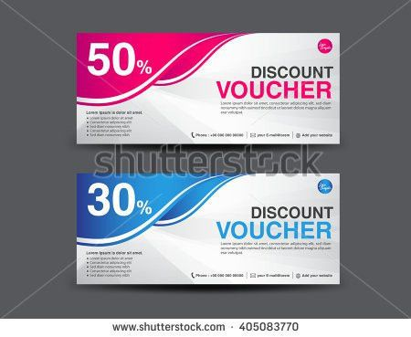 "ganpanjanee's ""Gift voucher template"" set on Shutterstock"