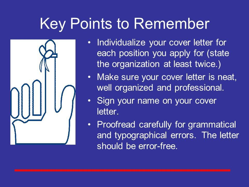 What Is a Cover Letter? A cover letter expresses your interest in ...