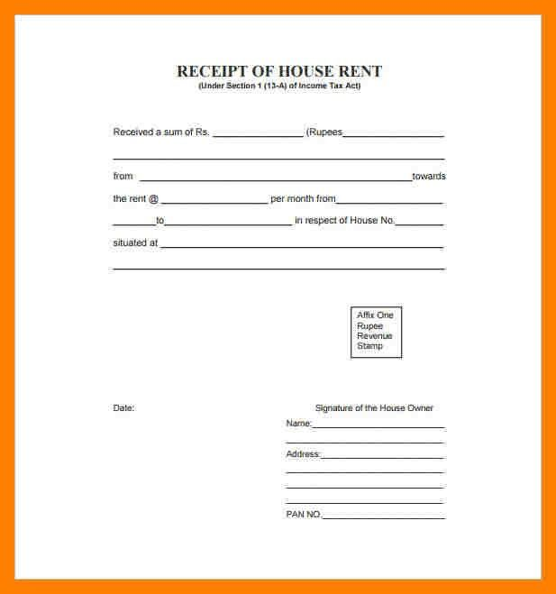 9+ rent receipts format | producer resume