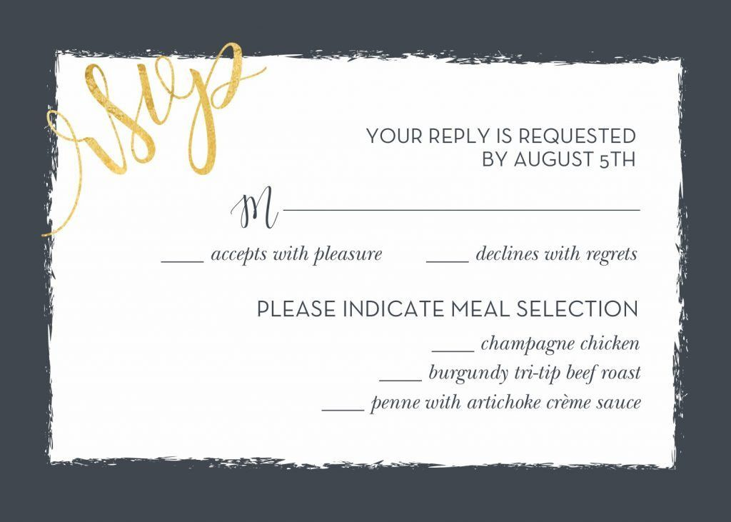 Wedding RSVP Wording and Card Etiquette | Shutterfly