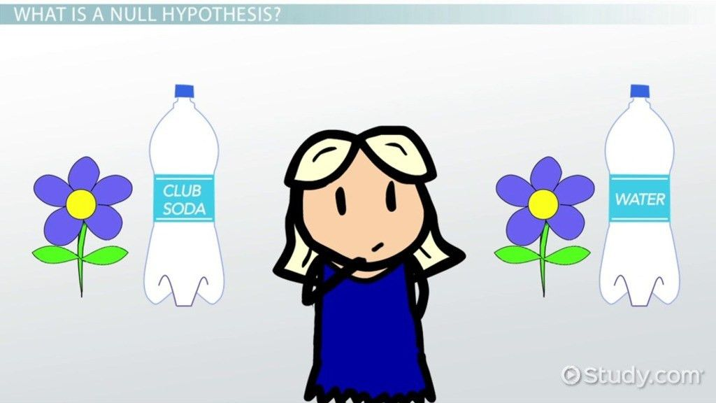 What is a Null Hypothesis? - Definition & Examples - Video ...
