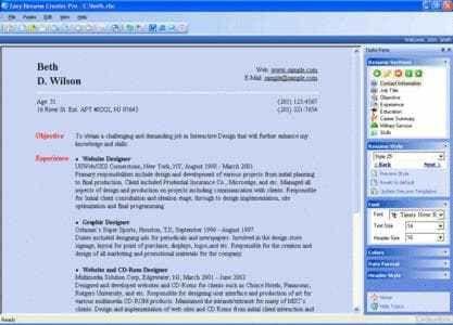 Download Easy Resume Creator - latest version