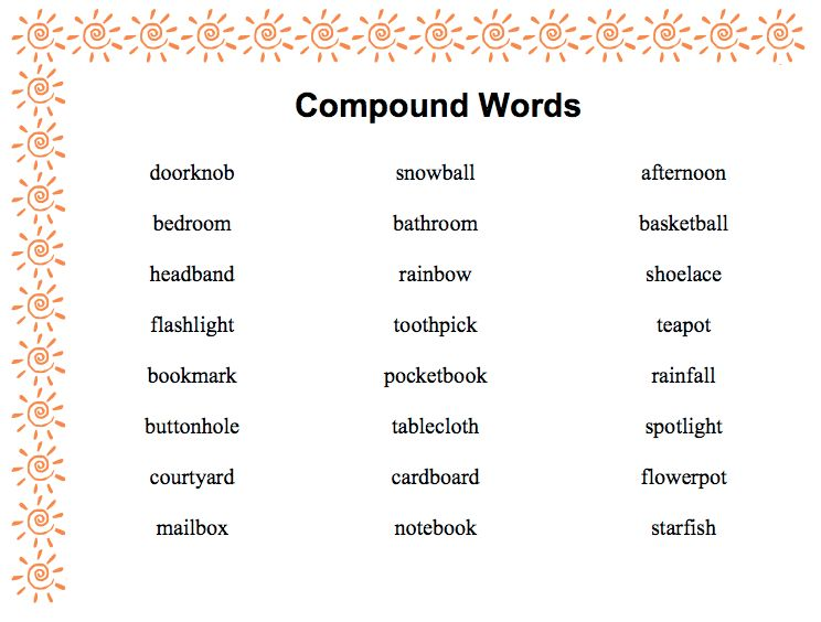 compound word definition and examples k--k.club 2017