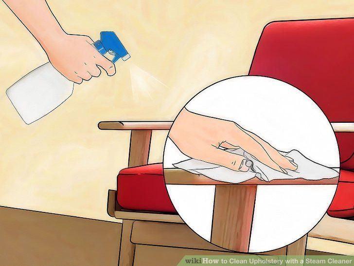 How to Clean Upholstery with a Steam Cleaner: 11 Steps