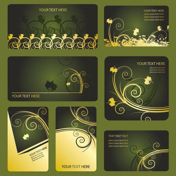Keyword pattern card vip card membership card business card ...