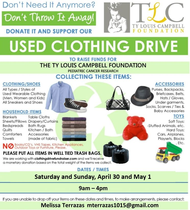 Flyers For Simple Clothes Drive Flyer | www.gooflyers.com