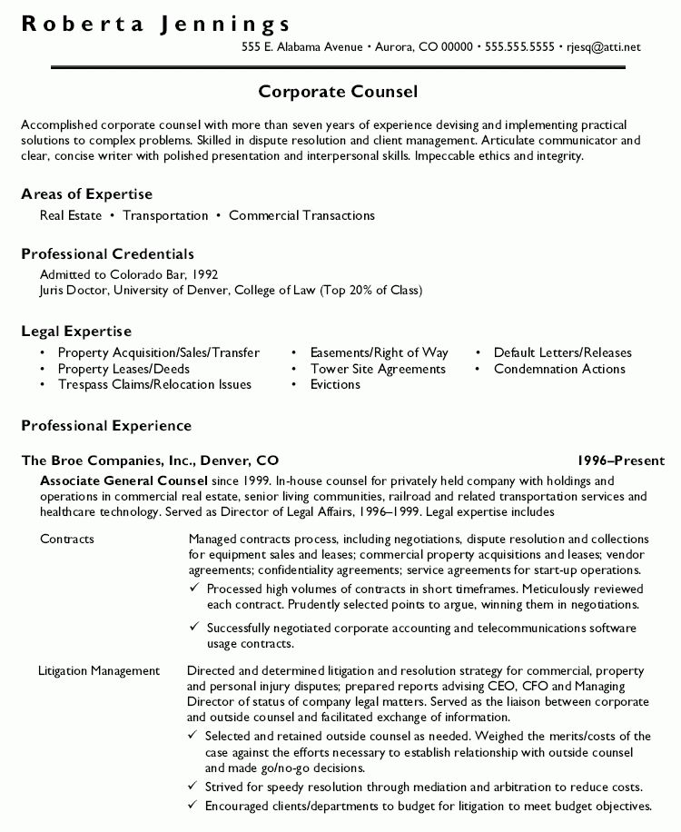 court trial attorney resume example. attorney resume templates for ...