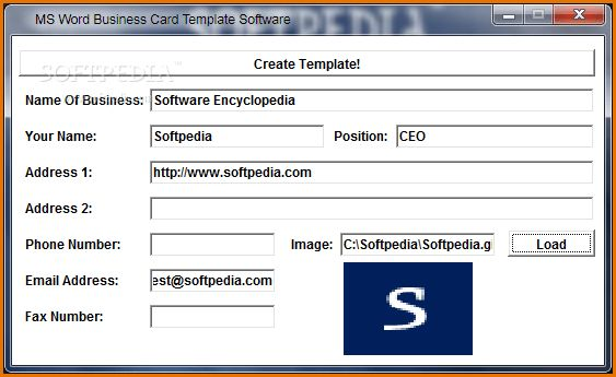 11+ microsoft word business card template | Job Resumes Word